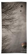 Balloons In The Pines Bath Towel