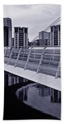 Baltic And Gateshead Millennium Bridge Bath Towel