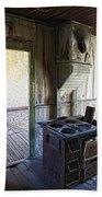 Bannack Ghost Town Kitchen Stove 2 Bath Towel