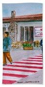 Bar Ristorante Mt. Etna Sicily Bath Sheet