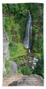 Barr Creek Falls Bath Towel