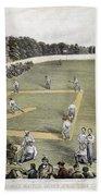Baseball, 1866 Bath Towel