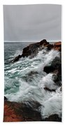 Bass Harbor Head Lighthouse Bath Towel