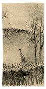 Battle Of Kernstown, 1862 Bath Towel