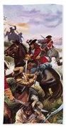 Battle Of Sedgemoor Bath Towel