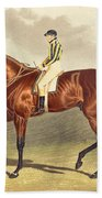 Bay Middleton Winner Of The Derby In 1836 Hand Towel