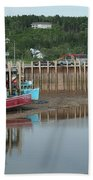 Bay Of Fundy - Low Tide Bath Towel