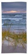 Beach By Holland Michigan No 0192 Bath Towel