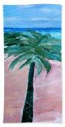Beach Palm Bath Towel