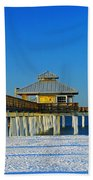 Beach Pier Bath Towel