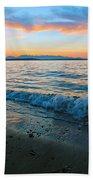 Beach Sunset Bath Towel