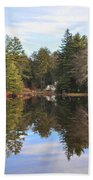 Bear Creek Lake Bath Towel