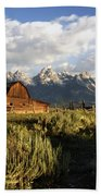 Beautiful Barn Grand Teton  Bath Towel