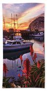 Beautiful Morro Bay Bath Towel
