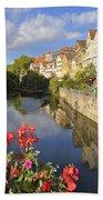 Beautiful Tuebingen In Germany Bath Towel