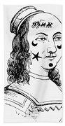 Beauty Spots, 17th Century Hand Towel