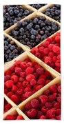 Berries Bath Towel
