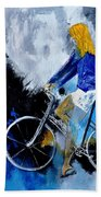 Bicycle 77 Bath Towel