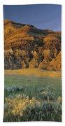 Big Muddy Badlands, Saskatchewan, Canada Bath Towel