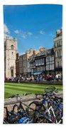 Bikes Cambridge Bath Towel