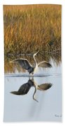Bird Dance Bath Towel