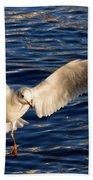 Bird Flying Bath Towel