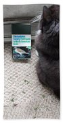 Birding Cat One Bath Towel