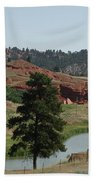 Black Hills Landscape Bath Towel