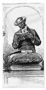 Black Preacher, 1890 Bath Towel