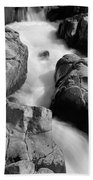 Black River Cascade Detail Bath Towel