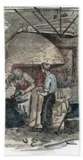 Blacksmith, C1865 Bath Towel