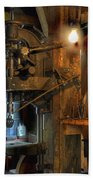 Blacksmith Workshop Bath Towel