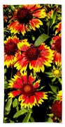 Blanket Flowers Bath Towel