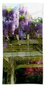 Blooming Wisteria  Bath Towel