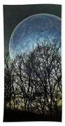 Blue Moon Hand Towel by Marianna Mills