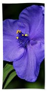 Blue Wildflower 6 Bath Towel