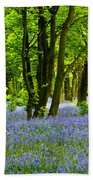 Bluebell Woods Bath Towel