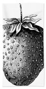 Botany: Strawberry Bath Towel