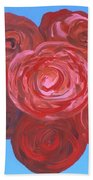 Bouquet Of Roses Bath Towel