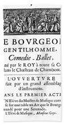 Bourgeois Gentilhomme Bath Towel