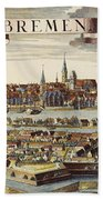 Bremen, Germany, 1719 Bath Towel