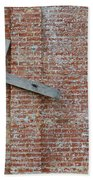 Brick Wall Cross Bath Towel