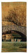 Bridge From The Past Bath Towel