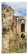 Bridge In Ronda Hand Towel