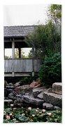 Bridge Over Water Bath Towel