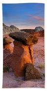 Brokentop Hoodoo Sunset Bath Towel