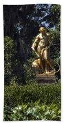 Brookgreen Golden Statue Bath Towel