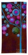Bubble Tree - W02d - Left Bath Towel