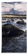 Buffalo Hunt, 1874 Bath Towel