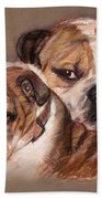 Bulldogs Bath Towel